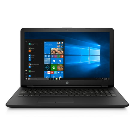 "HP 15.6"" Laptop, Intel Celeron N4000, 4GB RAM, 500GB Hard Drive, DVD-Writer, Windows 10, Jet Black, 15-bs212wm"