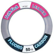 Triple Fish Intl LLC Fluorocarbon Wrist Spool 50lb 25yd #25FLS05001 Multi-Colored