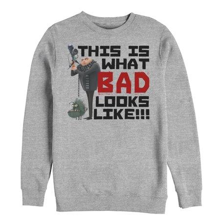 Despicable Me Men's Gru Bad Sweatshirt (Gru Despicable Me Costume)