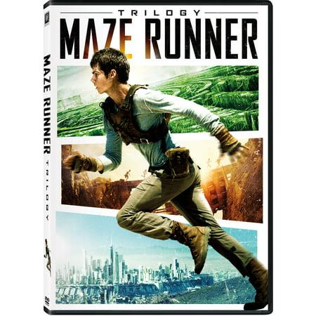 Maze Runner Trilogy (DVD) (Best Sci Fi Trilogies)