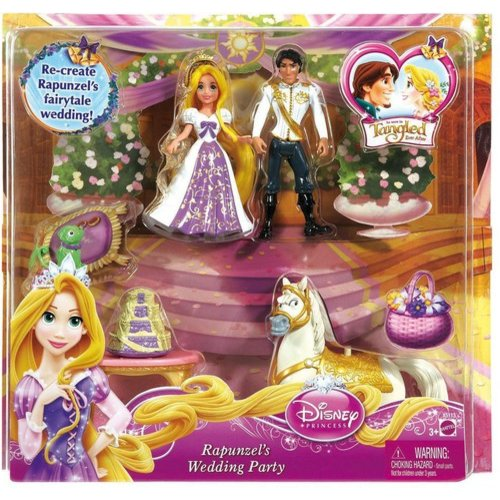 Disney Princess Rapunzel Wedding Party Small Doll