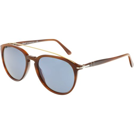 Persol Men's PO3159S-904656-55 Brown Aviator Sunglasses