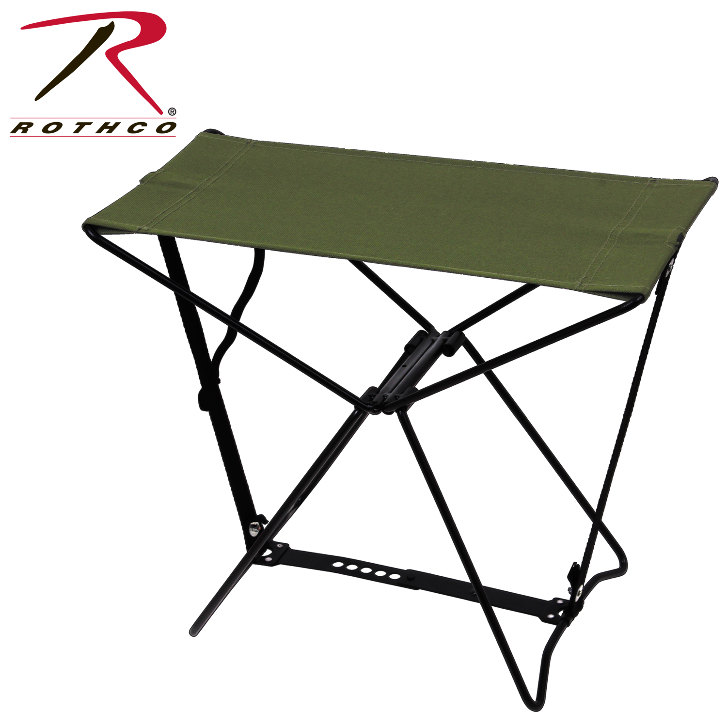 Rothco Folding Camp Stool Olive Drab Walmart Com