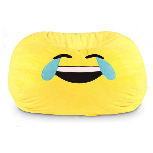 Emoji Emoticon Bean Bag Soft Chair Comfortable Sofa Seat ...