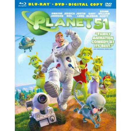 Ray William Johnson Halloween (Planet 51 (Blu-ray + DVD + Digital)