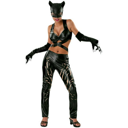Catwoman Adult Halloween Costume](Cavewoman Outfits)
