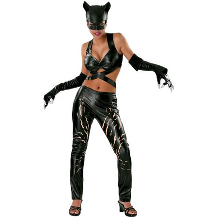 Catwoman Adult Halloween Costume](Halloween Costumes Ideas For Catwoman)