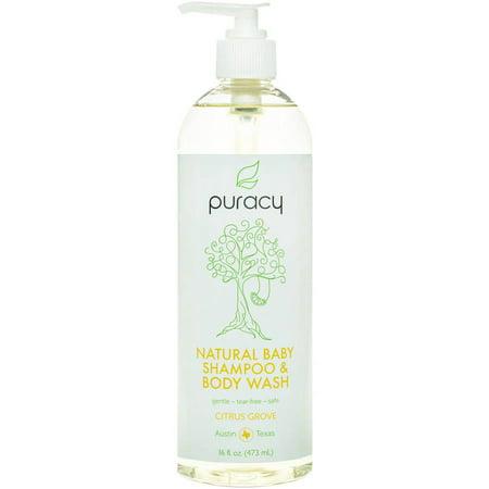 Puracy Naturel Bébé Shampooing & Body Wash - Citrus Grove