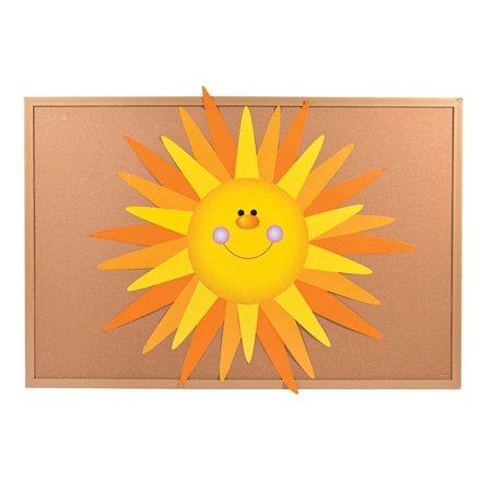 DIY Sun Bulletin Board Set - Sun Bulletin