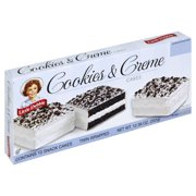Little Debbie Family Pack Cookies and Creme Cakes Snack Cakes, 12.39 oz