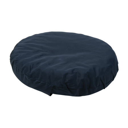 DMI Hemmorhoid Cushion for Pressure Sores, Bed Sore Seat Cushion, Donut Pillow for Pregnancy, Foam Ring Cushion for Sitting, Convoluted Pillow, Medical Cushion, Navy, 16