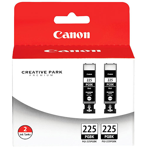 Canon PGI-225 Black Twin Pack Ink Cartridge