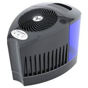 vornado evap3 whole room evaporative humidifier, black