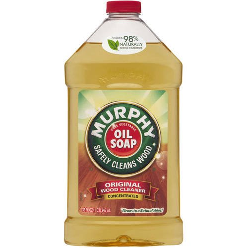 Murphy Oil Soap Wood Cleaner, Original - 32 fluid ounce - Walmart ...