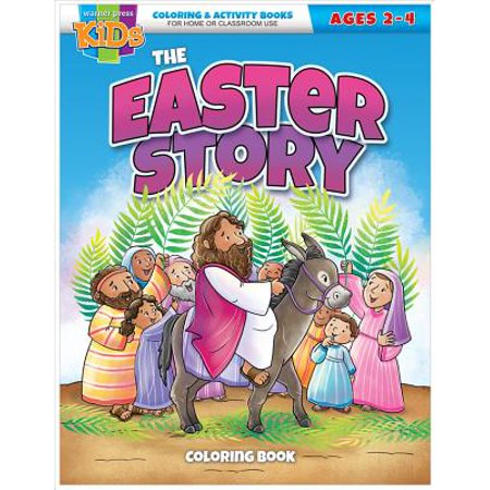 Easter Crafts To Sell (Kid/Fam Ministry Color and ACT Bks - Seasonal - The Easter Story)
