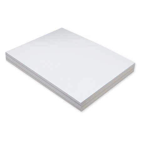 Pacon Super Heavyweight Tagboard, 9 x 12 in, White, Pack of 100