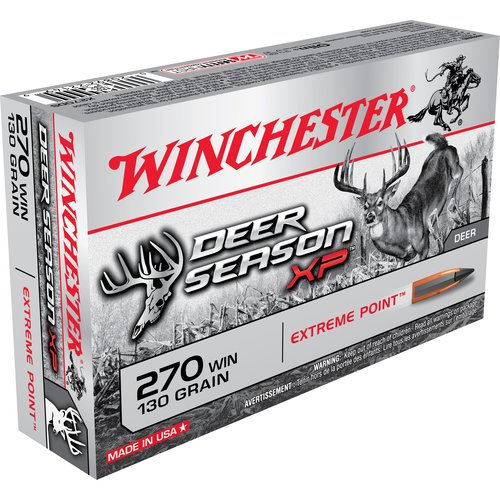 Winchester 270 Win 130 Grain Deer Season XP