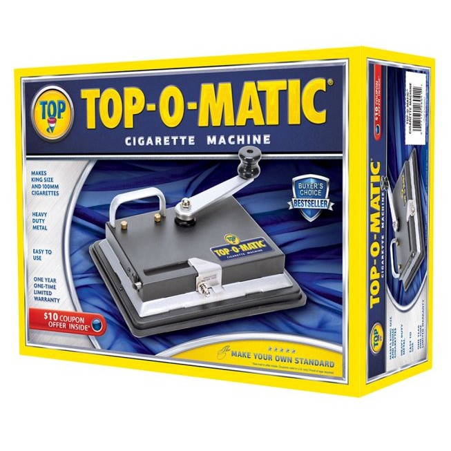 top o matic cigarette rolling machine review
