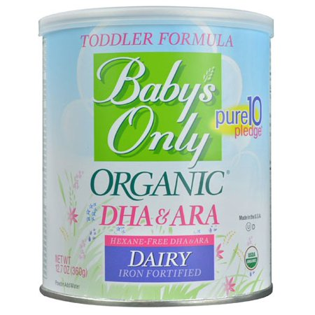 Baby S Only Organic Dha Ara Milk Based Formula Powder With Iron