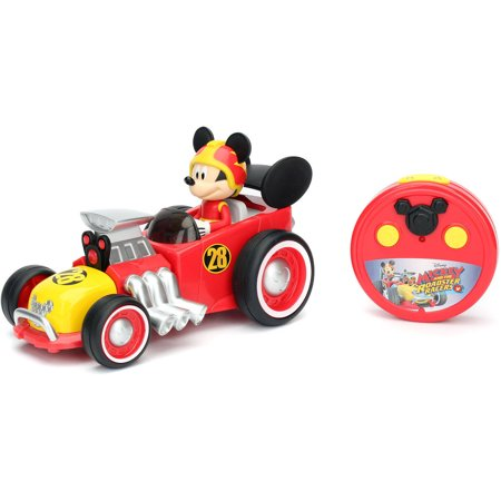 Disney Jada Toys Remote Control Mickey Mouse Roadster Racer