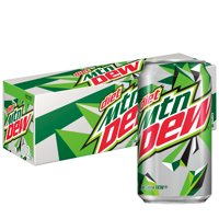 Diet Mountain Dew, 12 oz Cans, 12 Count