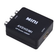 Mini Composite AV CVBS 3RCA to HDMI Video c Adapter 720p 1080p
