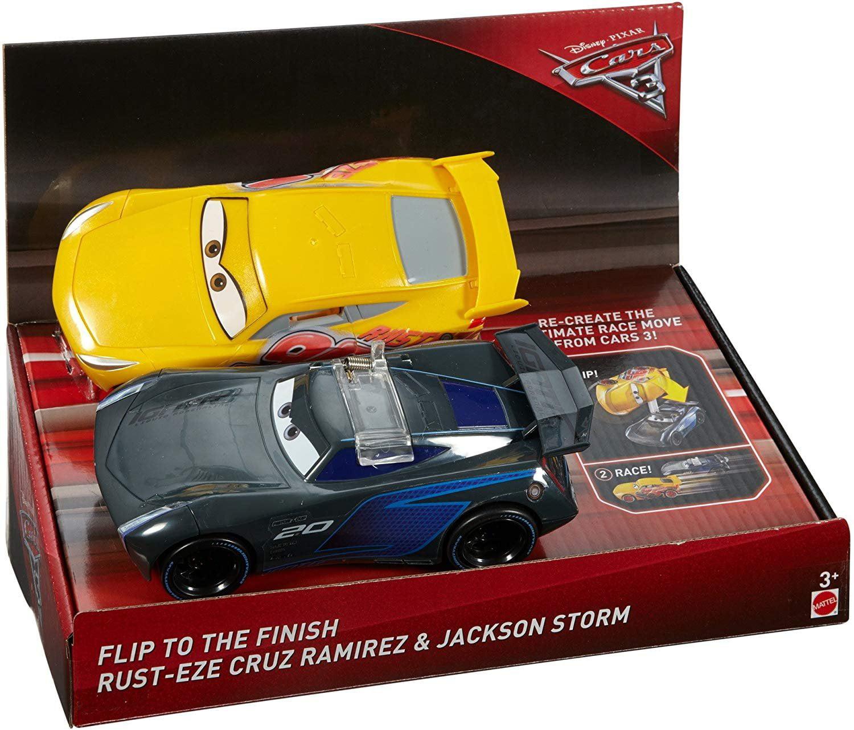Disney Pixar Cars 3 Flip To The Finish Rust Eze Cruz Ramirez