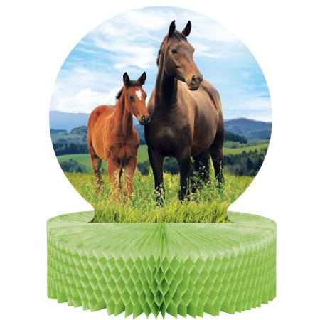 Creative Converting Horse And Pony - Horse Centerpieces