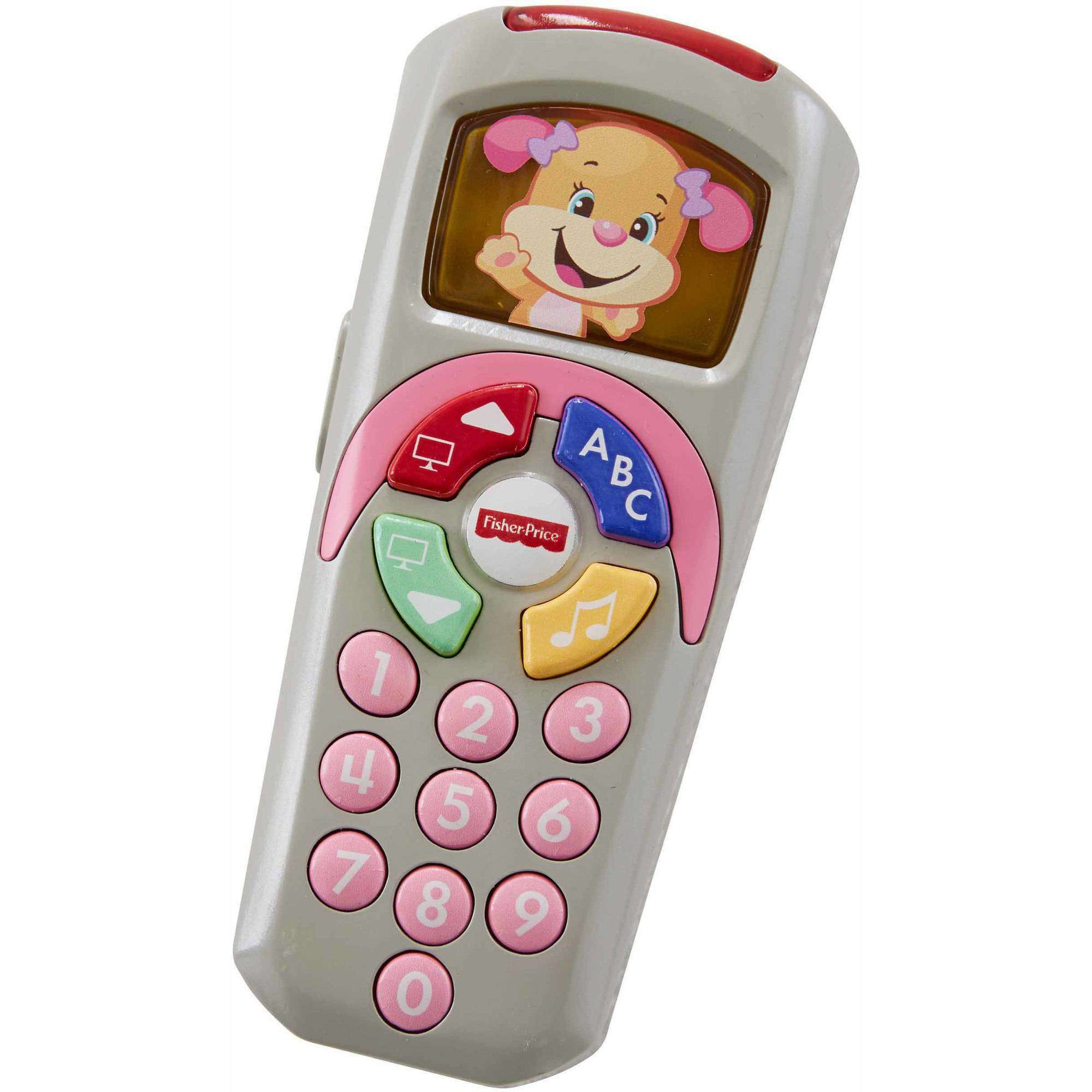 Fisher-Price Laugh & Learn Sis' Remote with Light-up Screen