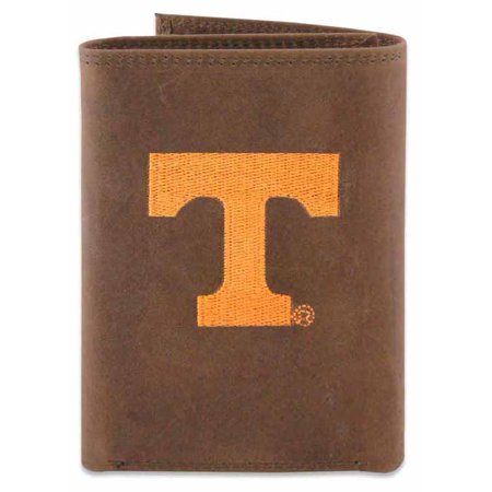 Tennessee Trifold Embroidered Leather Wallet