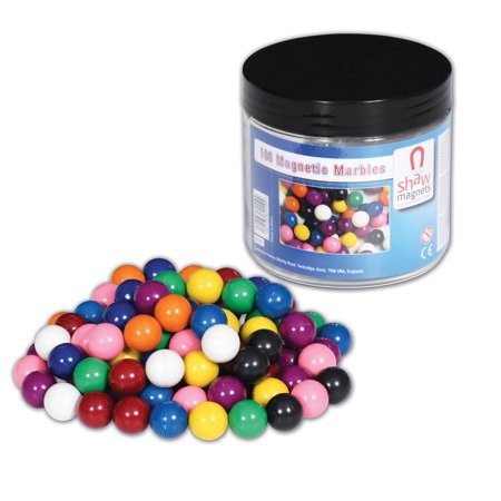 TickiT 9000 Magnetic Marbles (Pack of 100)](Magnetic Marbles)