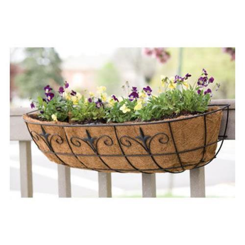Brand New No.88518 Panacea Classic Finial Window / Deck Planter