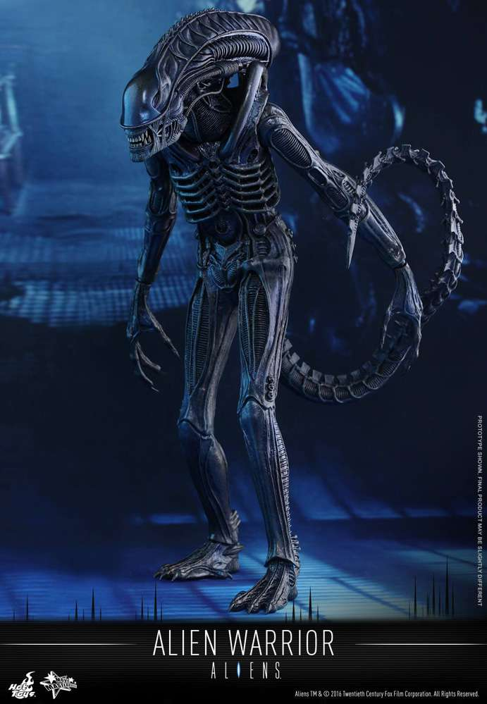 Movie Masterpiece Alien Warrior Collectible Figure by