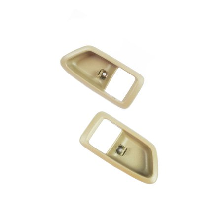 CF Advance For 97-01 Toyota Camry Front or Rear Pair SET 2PCS Interior Inside Door Handle Case Tan 1997 1998 1999 2000 2001 (1999 F350 Interior For Doors)