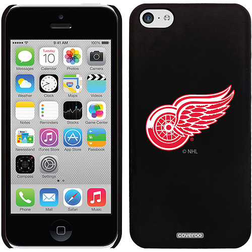 Detroit Red Wings Primary Logo Design on iPhone 5c Thinshield Snap-On Case by Coveroo