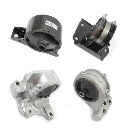Fits: 2000-2005 Mitsubishi Eclipse 2.4 Motor & Trans Mount 4PCS for Auto Transmission 00 01 02 03 04 05 A6699 A4621 A4612 A4602