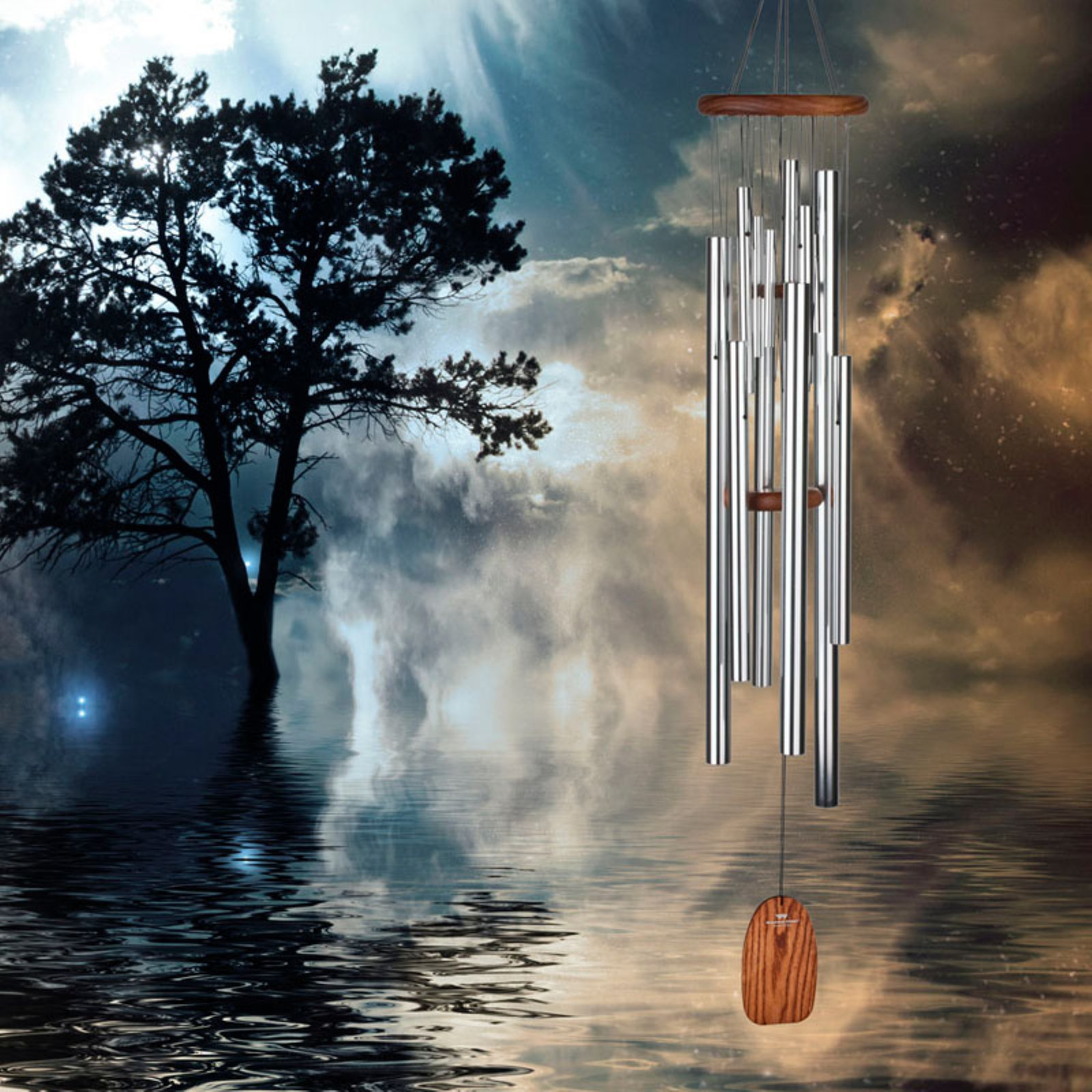 Woodstock Magical Mystery Space Odyssey Wind Chime by Woodstock
