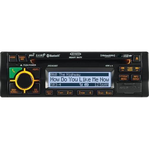 ASA Jensen JHD3630BTB AM/FM/WB/CD/RBDS/USB SiriusXM,iPod ...