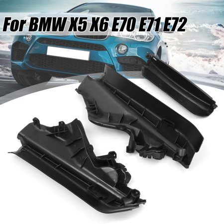 3pcs Engine Upper Compartment Partition Panel Set Fits For BMW X5 X6 E70 (Bmw Replacement Engines)
