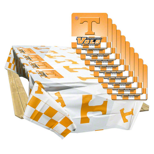 NCAA - Tennessee Volunteers Tablecloth Coaster Pack