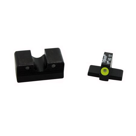 Trijicon HD XR Night Sight Set for Sig Sauer P225, P226, P228, P239, & P320 (9mm & .357SIG), Yellow Front Outline