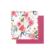 Pink Paislee Whimsical Paper 12x12 Paper 3 (pack of 25)