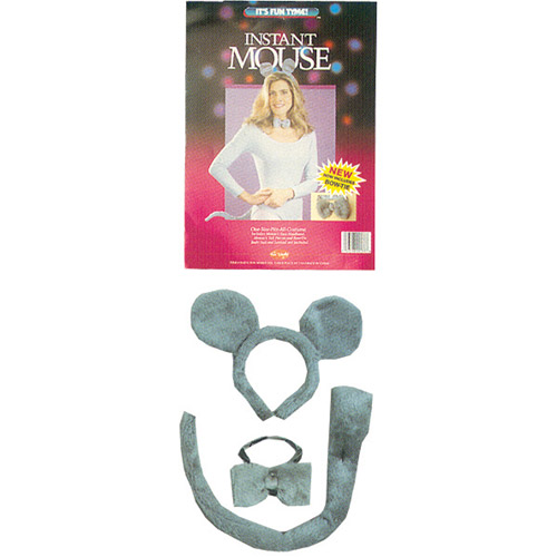 Instant Mouse Kit Adult Halloween Accessory