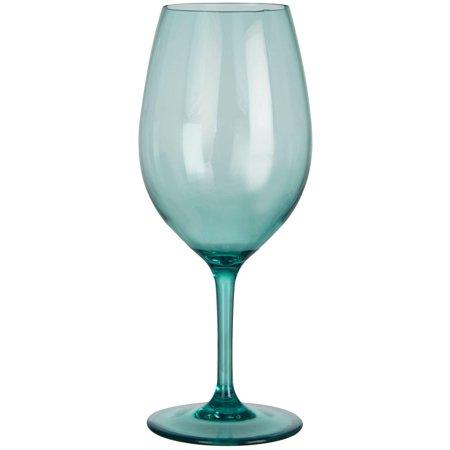Blue Wine Glasses (Coastal Home 20 oz. Acrylic Wine)