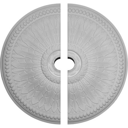 """42 1/2""""OD x 4 1/2""""ID x 4 5/8""""P Springtime Ceiling Medallion, Two Piece (Fits Canopies up to 9 3/8"""")"""