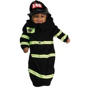 Firefighter Bunting Baby Infant Costume size 0-9 MO Newborn Outfit Rubie's