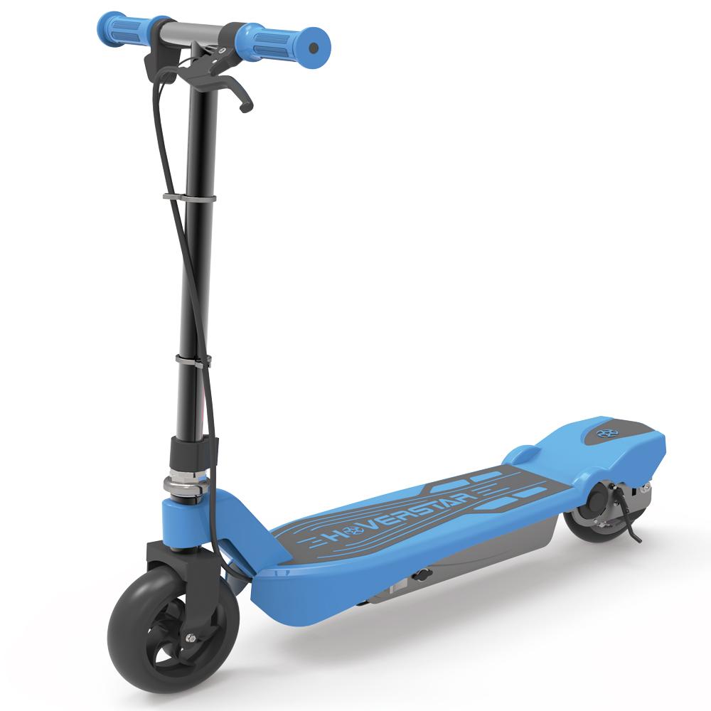 HOVERSTAR Electric Kick Start Scooter For Kids Pink