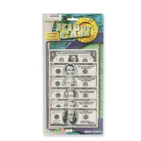 2 Pack Play Money - Kiddy Cash Pretend Play Set