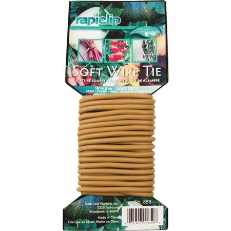 - Luster Leaf 16' Brown Soft Wire Tie 859