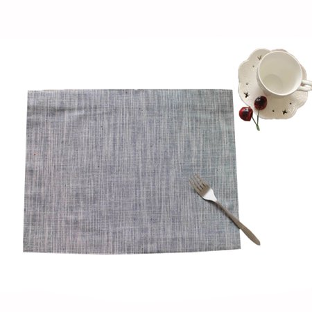 OkrayDirect Simple Cotton Pure Table Mat Sheets Pad Heat Insulation Table Mat ()
